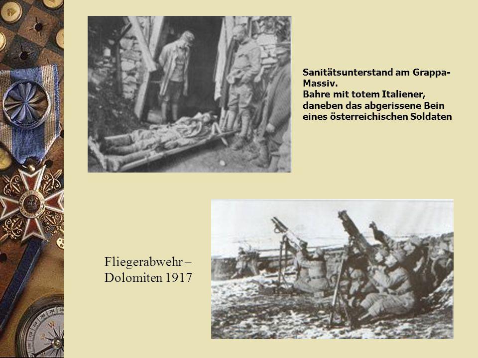 Fliegerabwehr – Dolomiten 1917