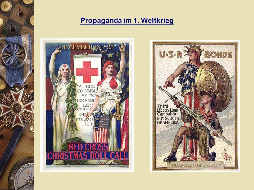 Propaganda im 1. Weltkrieg