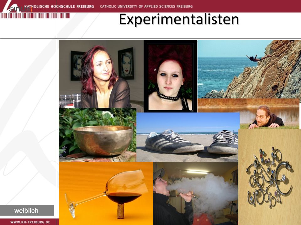 Experimentalisten weiblich