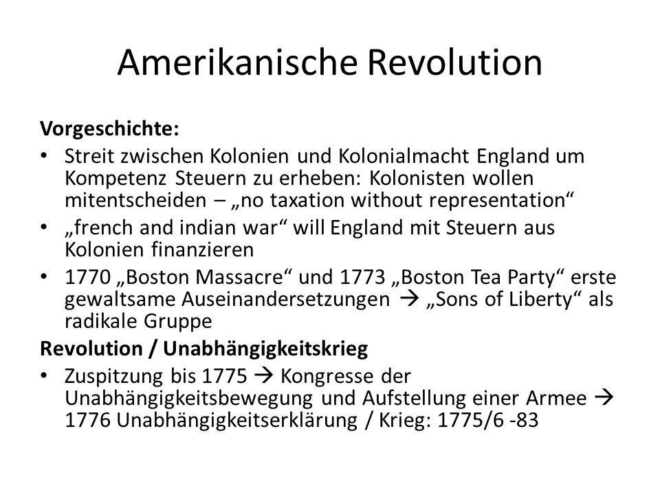 Amerikanische Revolution