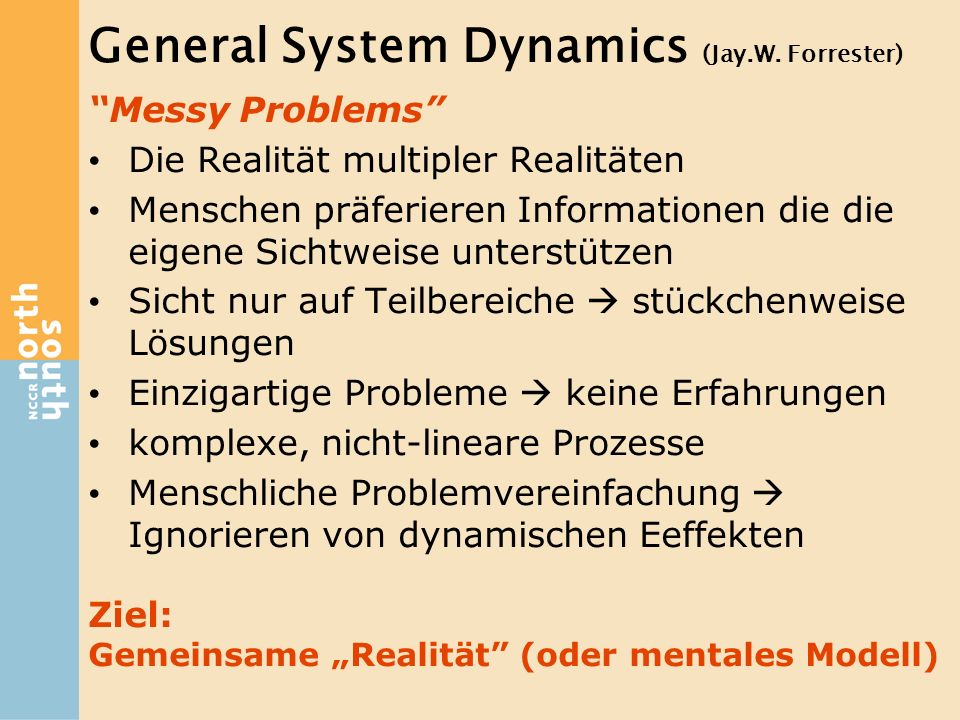 General System Dynamics (Jay.W. Forrester)