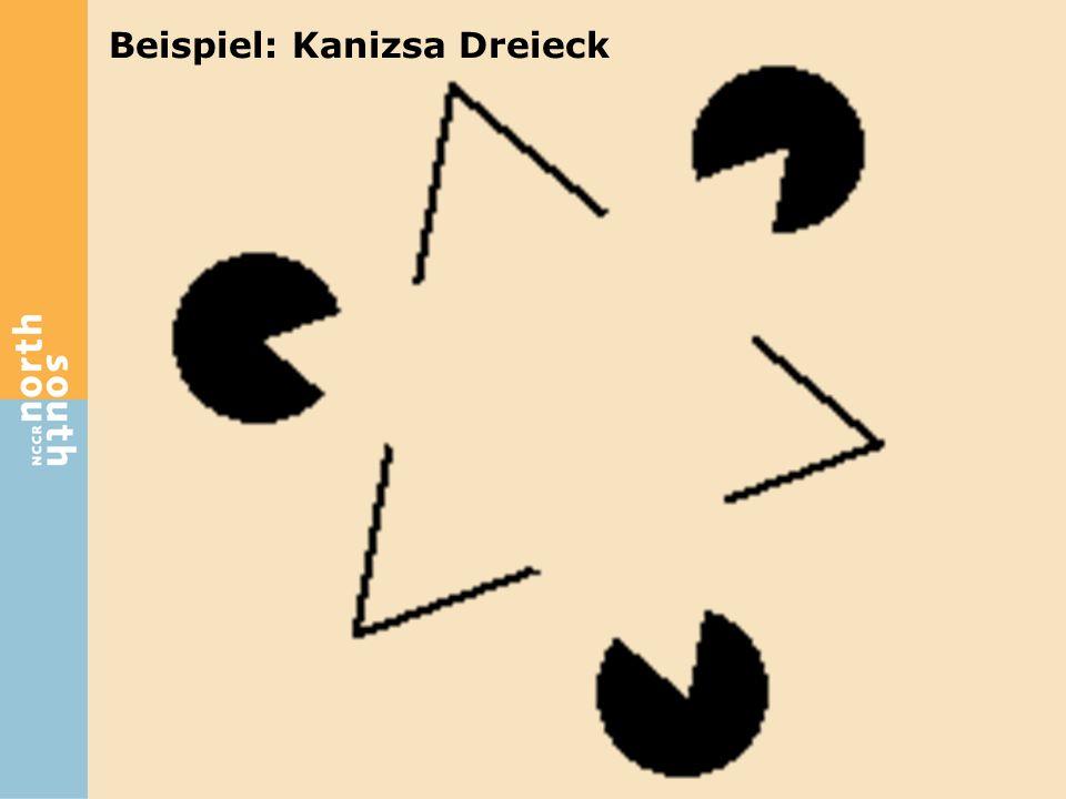 Beispiel: Kanizsa Dreieck
