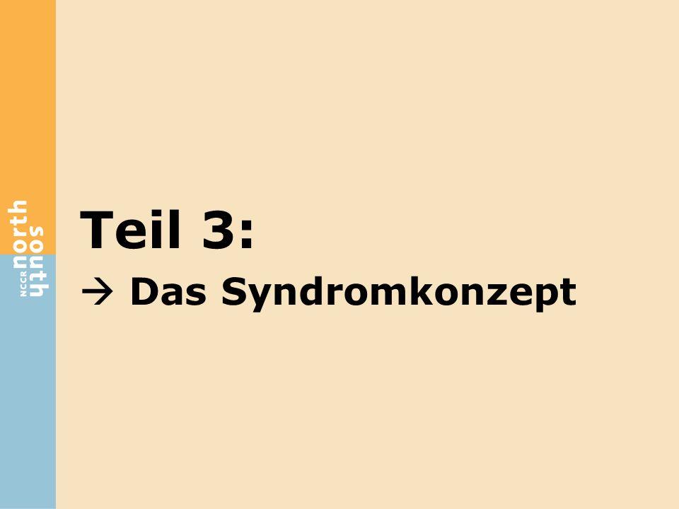 Teil 3:  Das Syndromkonzept
