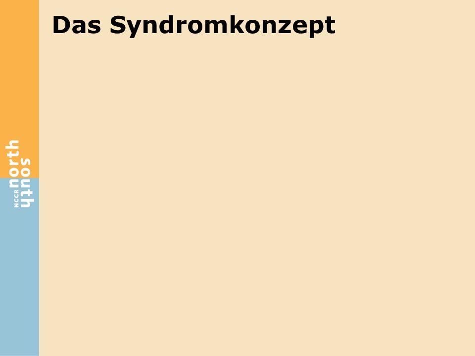 Das Syndromkonzept Die dem Syndromkonzept zu Grunde liegende Hypothese lautet damit: