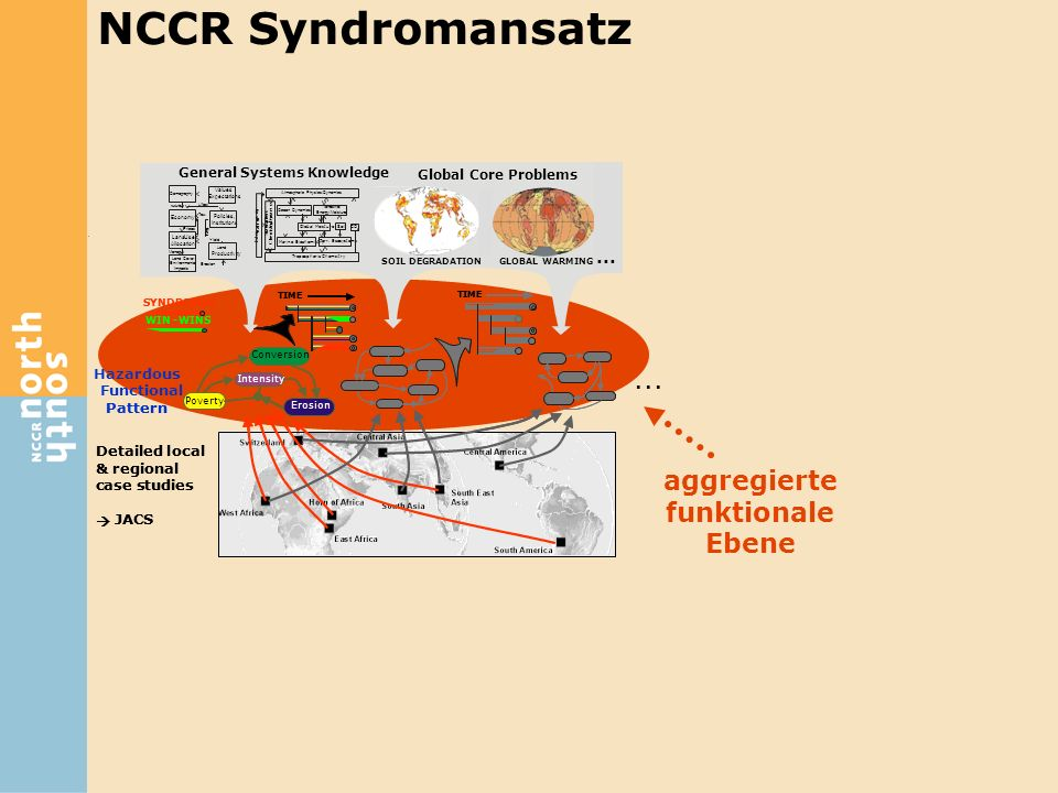 NCCR Syndromansatz ... aggregierte funktionale Ebene ... Hazardous