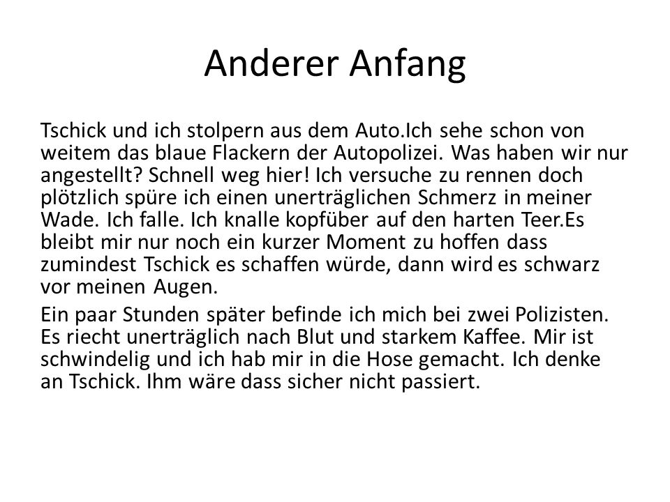 Anderer Anfang
