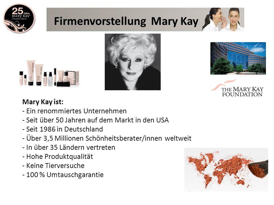 Firmenvorstellung Mary Kay
