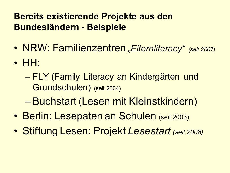Bereits existierende Projekte aus den Bundesländern - Beispiele