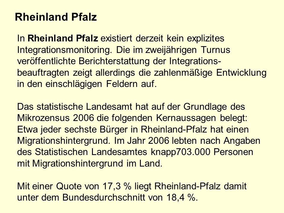 Rheinland Pfalz In Rheinland Pfalz existiert derzeit kein explizites