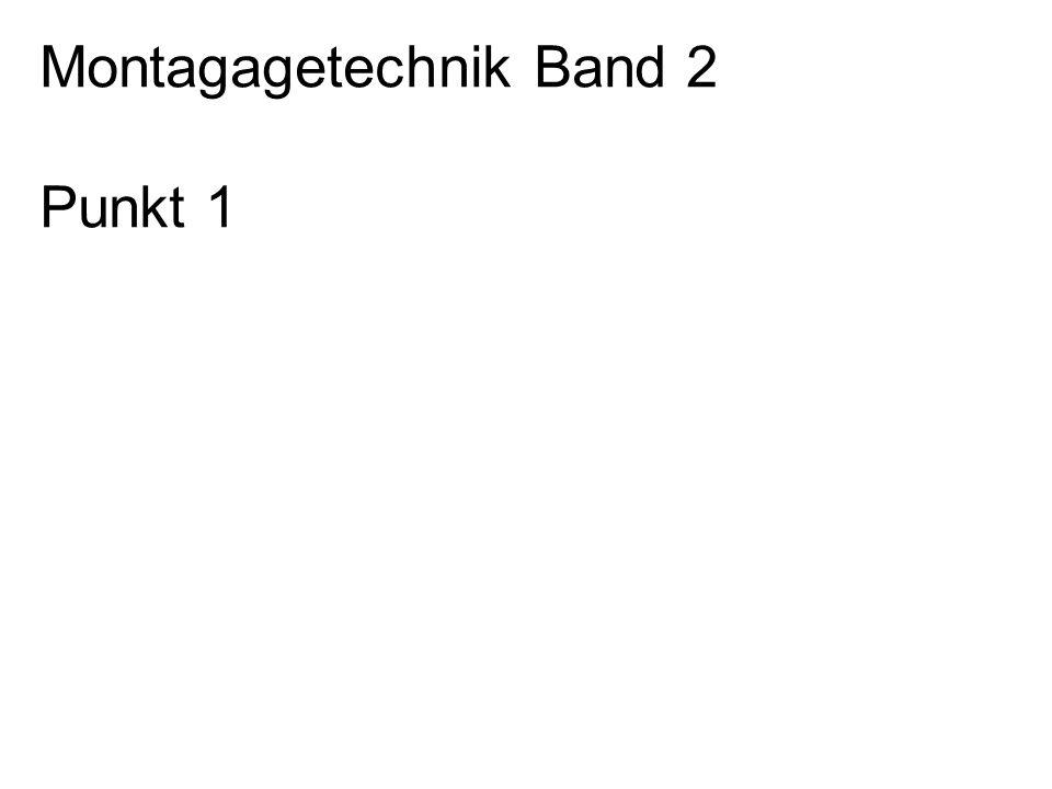 Montagagetechnik Band 2
