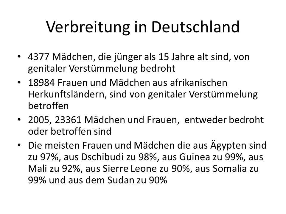 Verbreitung in Deutschland