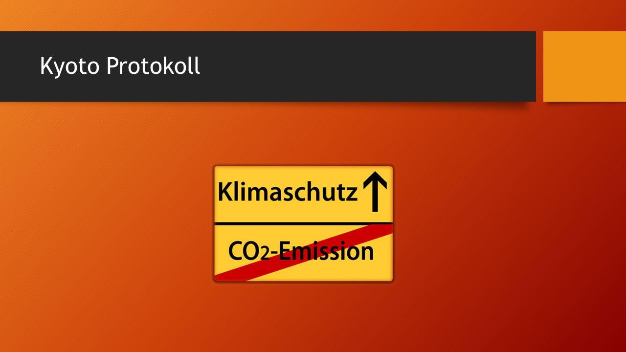 Kyoto Protokoll
