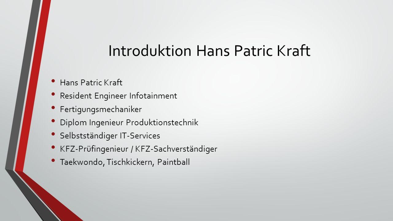 Introduktion Hans Patric Kraft