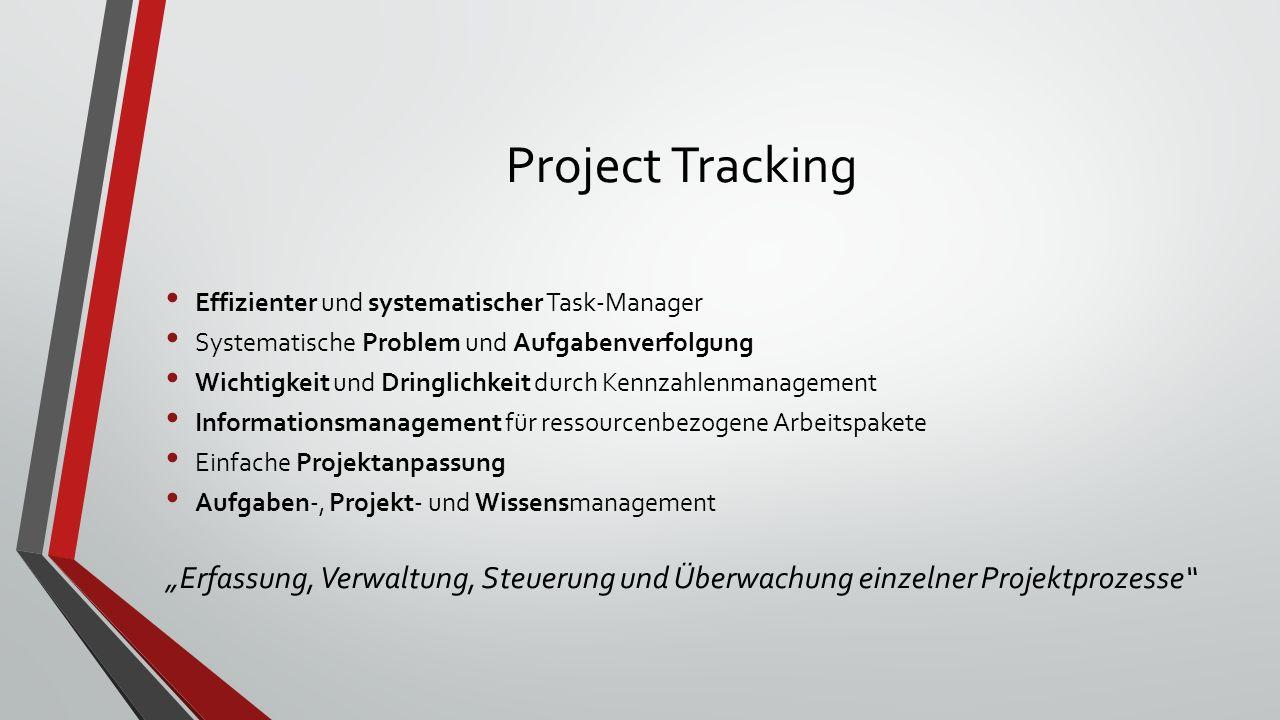 Project Tracking Effizienter und systematischer Task-Manager. Systematische Problem und Aufgabenverfolgung.