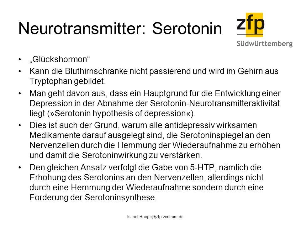 Neurotransmitter: Serotonin