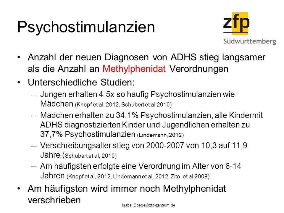 Psychostimulanzien Anzahl der neuen Diagnosen von ADHS stieg langsamer als die Anzahl an Methylphenidat Verordnungen.