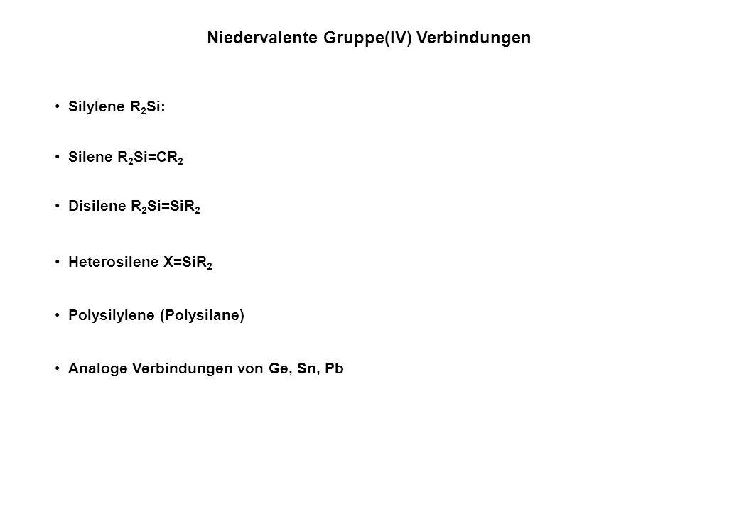 Niedervalente Gruppe(IV) Verbindungen