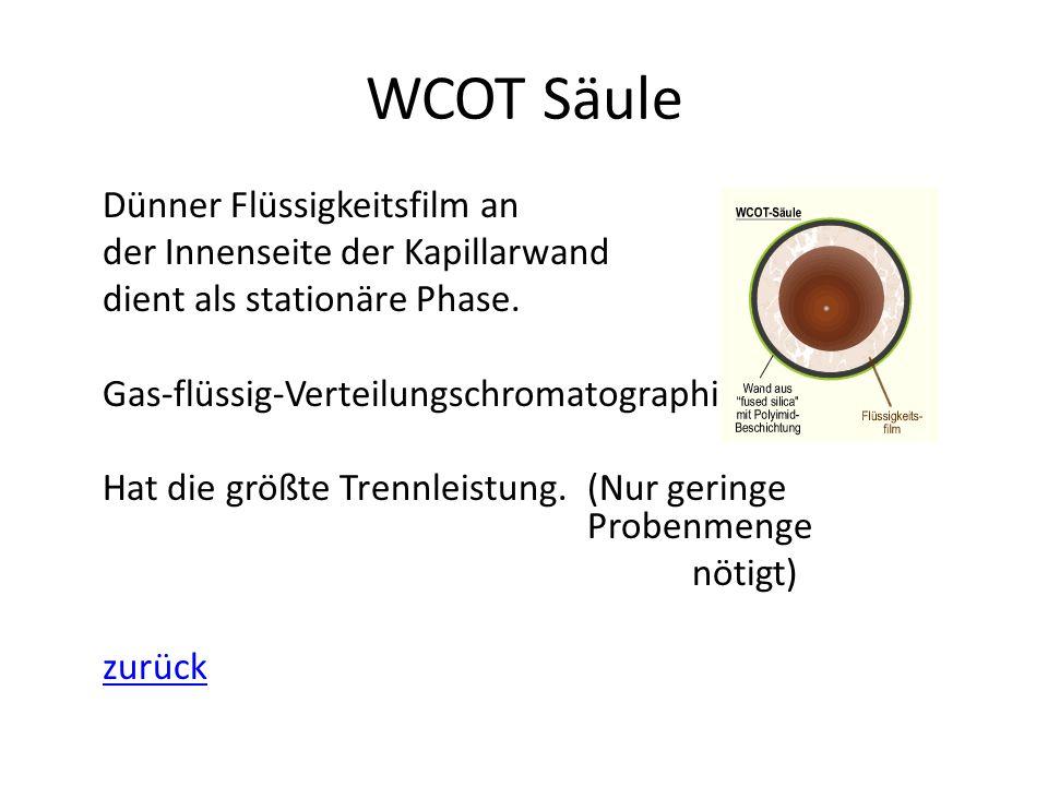 WCOT Säule