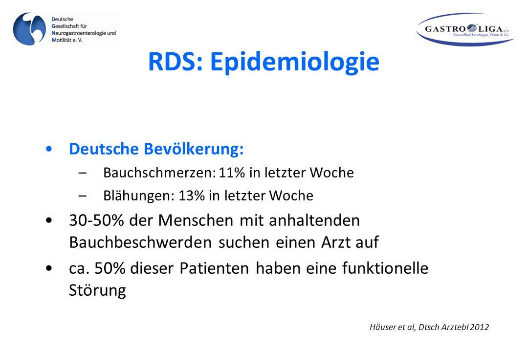 RDS: Epidemiologie Deutsche Bevölkerung: