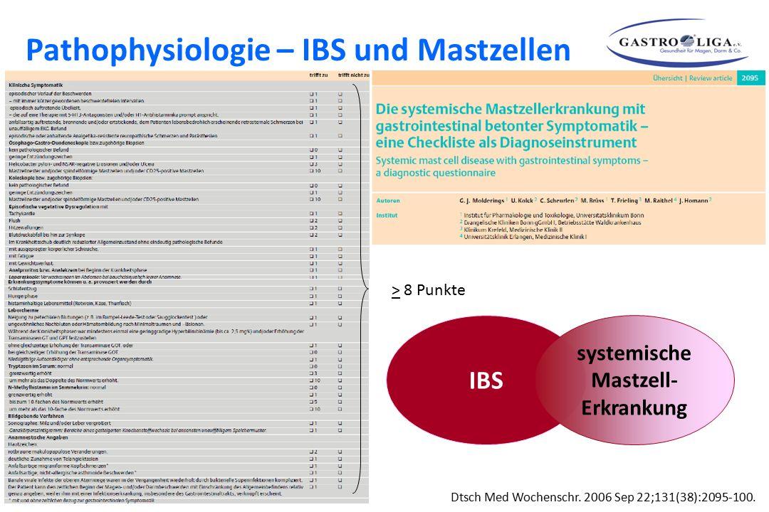 Pathophysiologie – IBS und Mastzellen