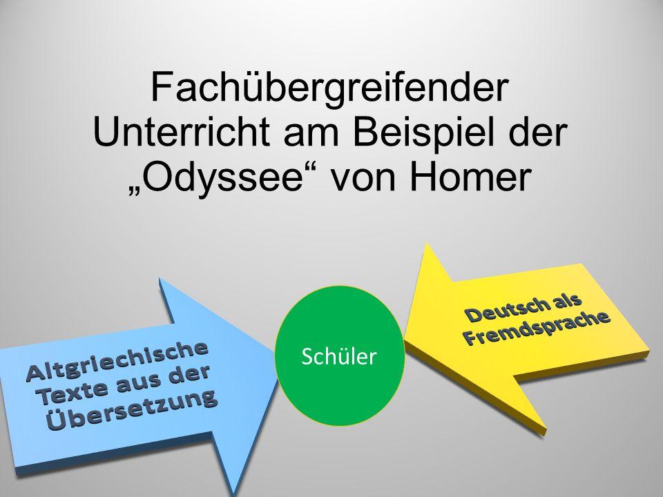 """Fachübergreifender Unterricht am Beispiel der """"Odyssee von Homer"""