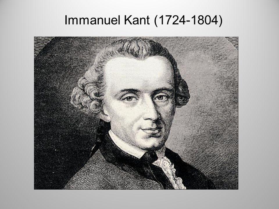 Immanuel Kant (1724-1804) Einleitend möchte ich Ihnen folgende kleine Geschichte erzählen:
