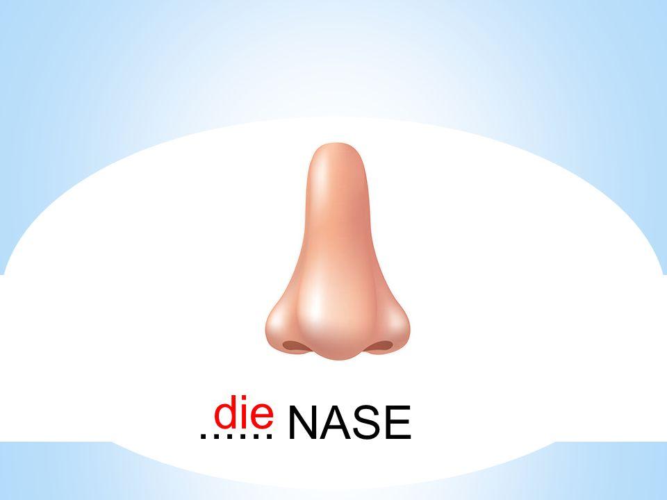 die ...... NASE