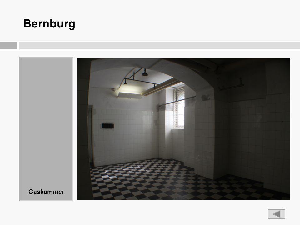 Bernburg Gaskammer
