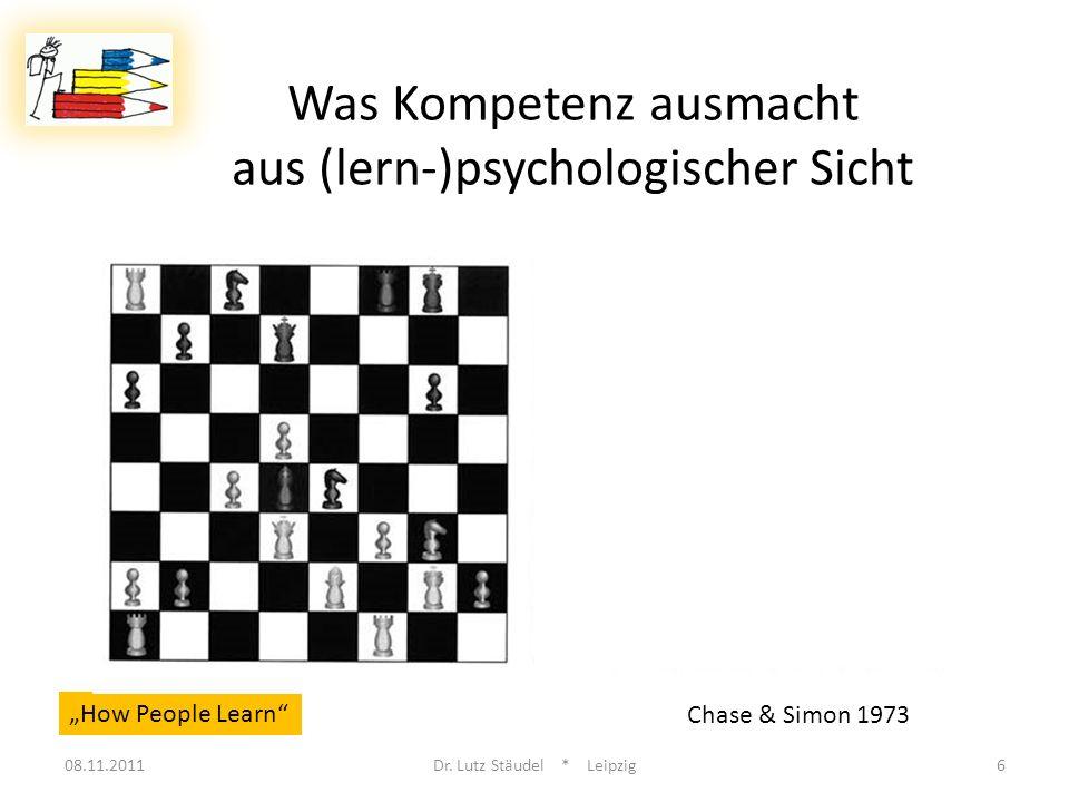 Was Kompetenz ausmacht aus (lern-)psychologischer Sicht