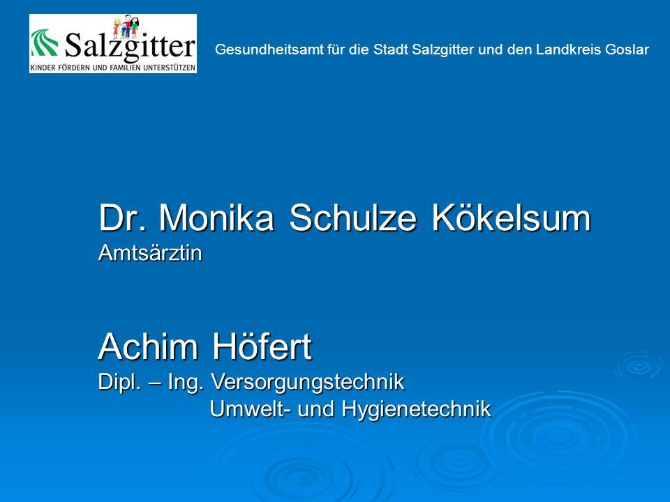 Dr. Monika Schulze Kökelsum Amtsärztin