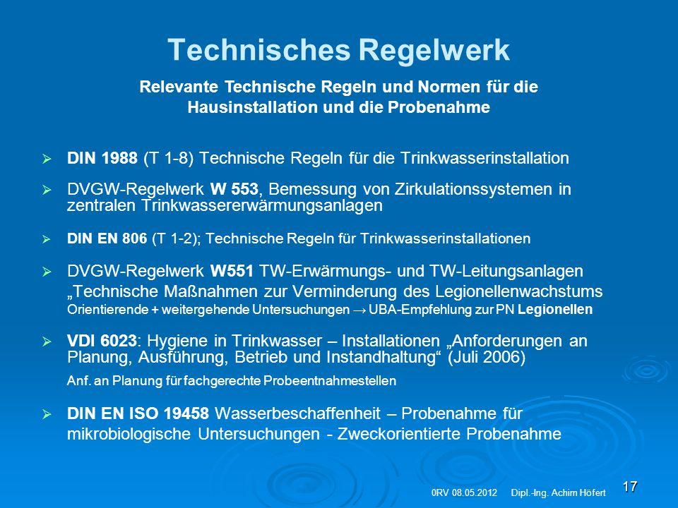 Technisches Regelwerk