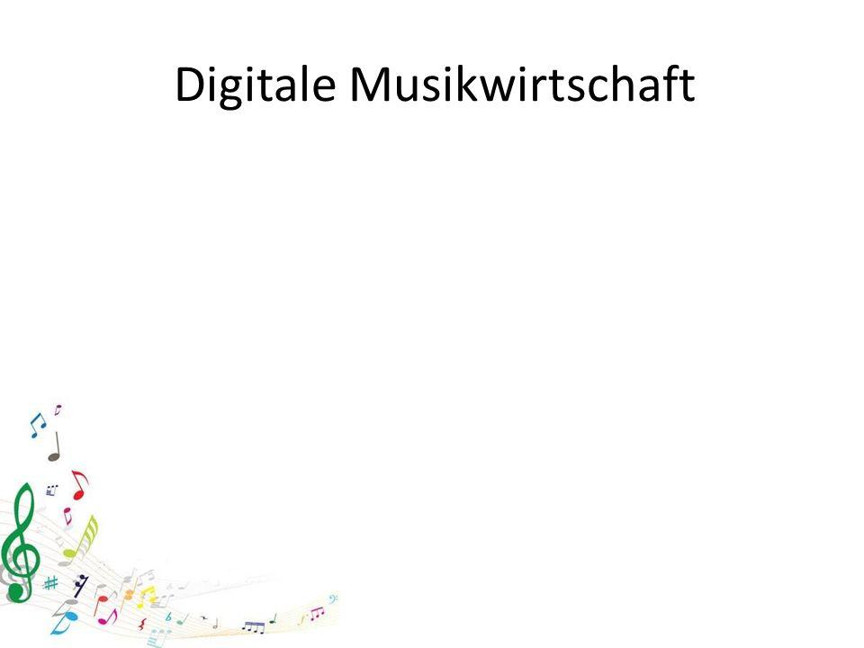 Digitale Musikwirtschaft