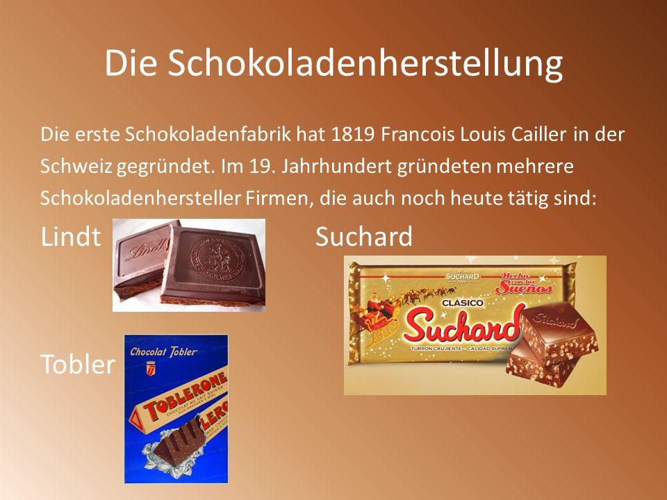 Die Schokoladenherstellung