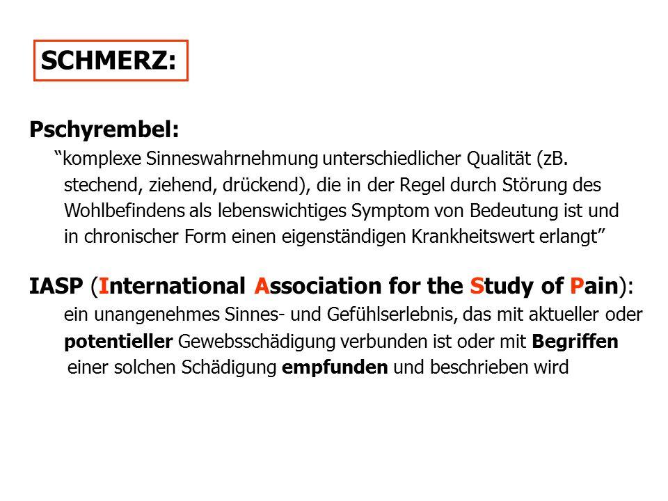 SCHMERZ: Pschyrembel: