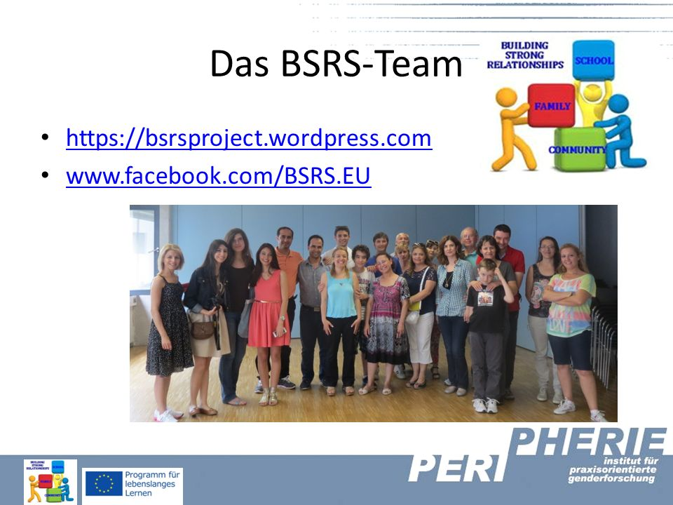 Das BSRS-Team https://bsrsproject.wordpress.com
