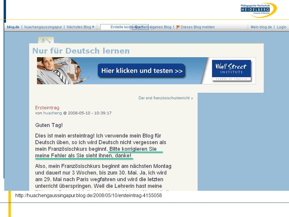 http://huachengaussingapur.blog.de/2008/05/10/ersteintrag-4155058