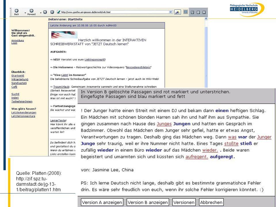 Quelle: Platten (2008): http://zif. spz. tu-darmstadt