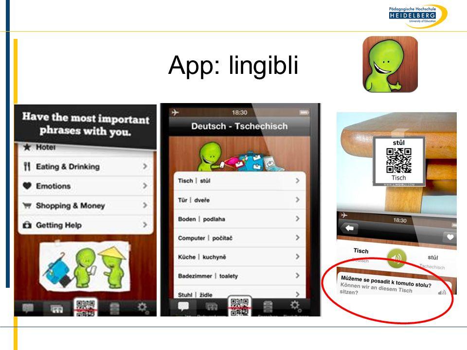 App: lingibli
