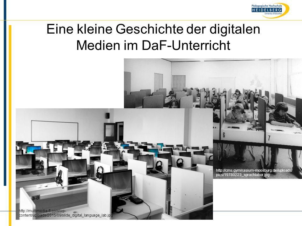 Eine kleine Geschichte der digitalen Medien im DaF-Unterricht