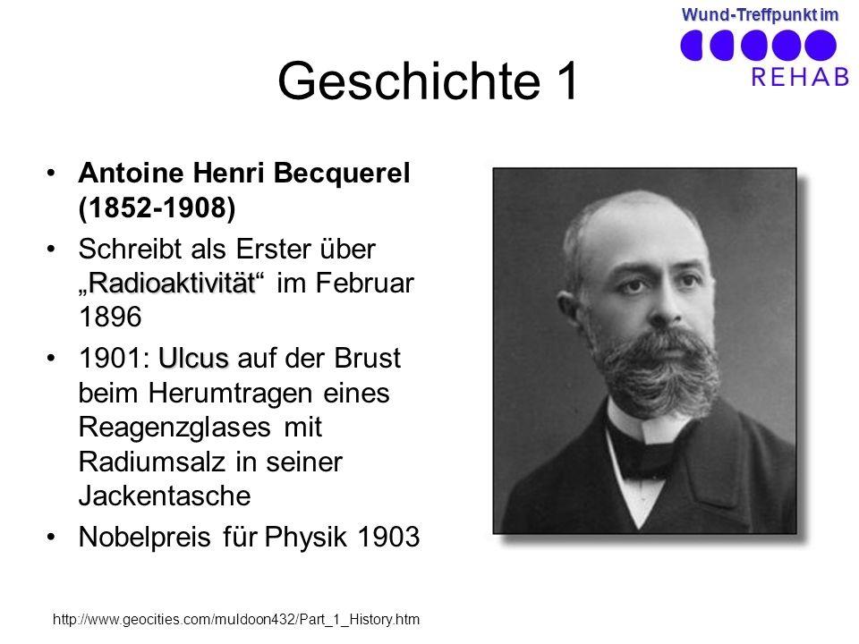 Geschichte 1 Antoine Henri Becquerel (1852-1908)