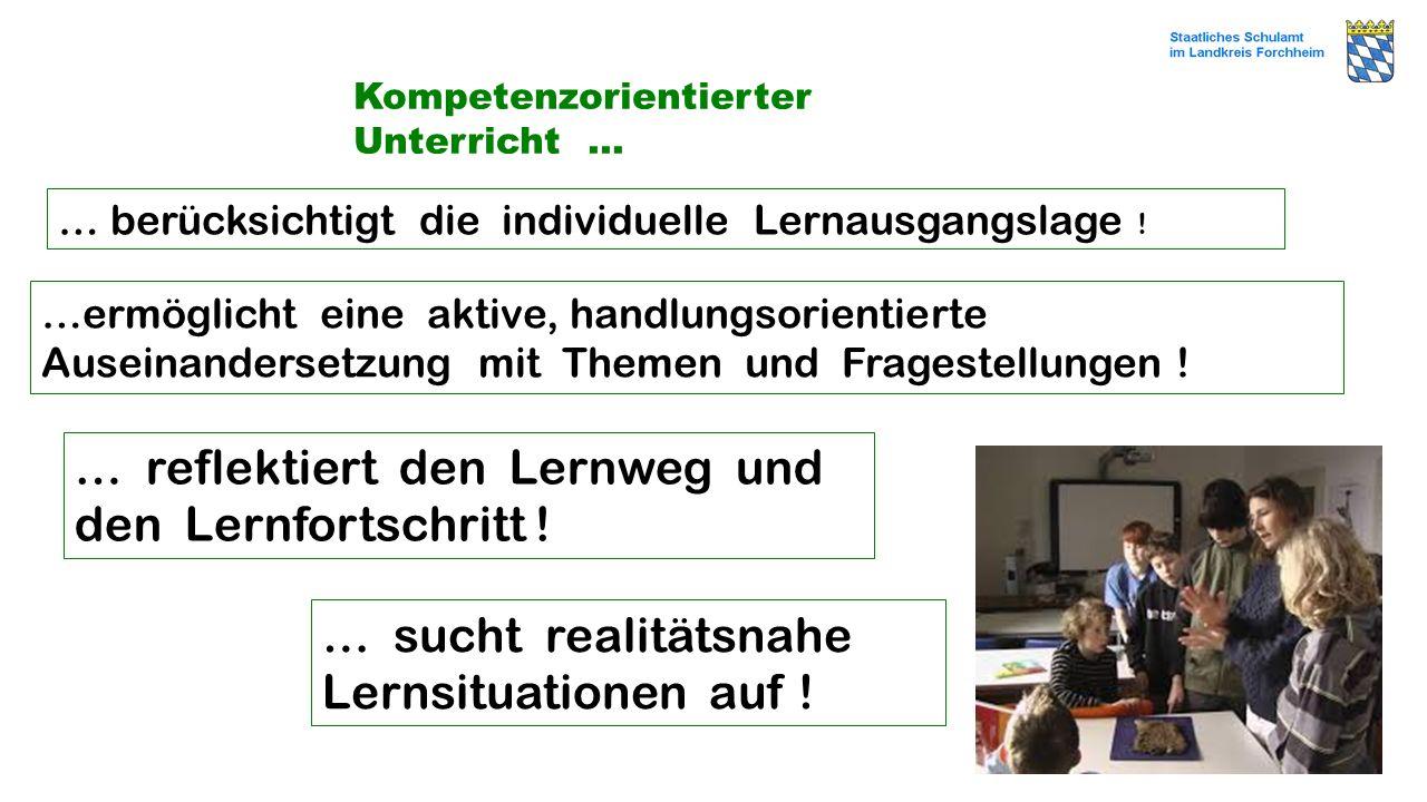 Kompetenzorientierter Unterricht …