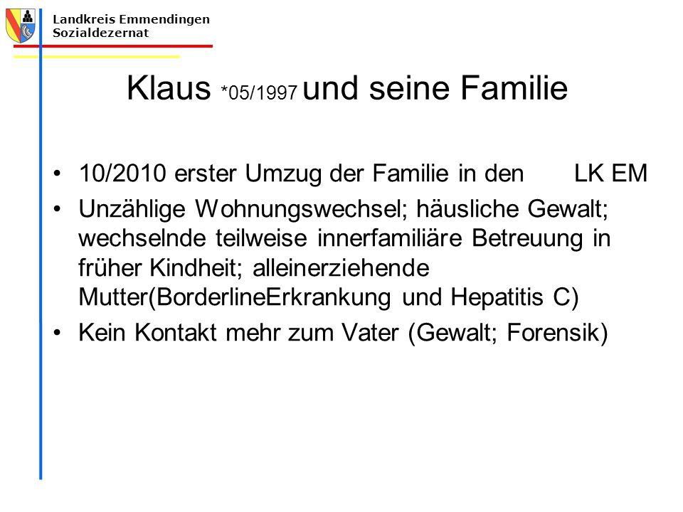 Klaus *05/1997 und seine Familie