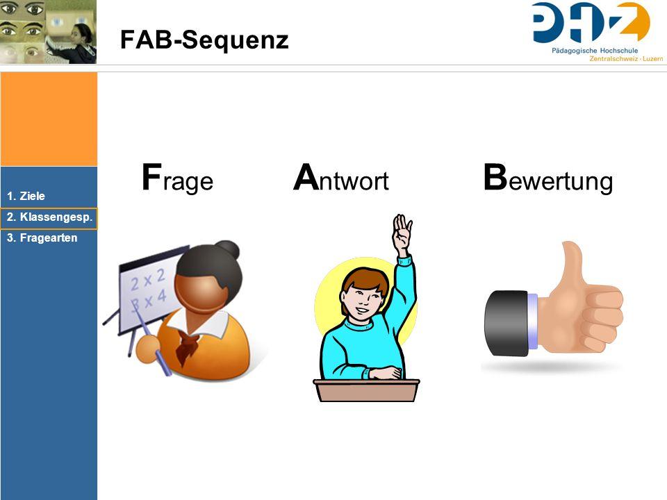 Frage Antwort Bewertung FAB-Sequenz