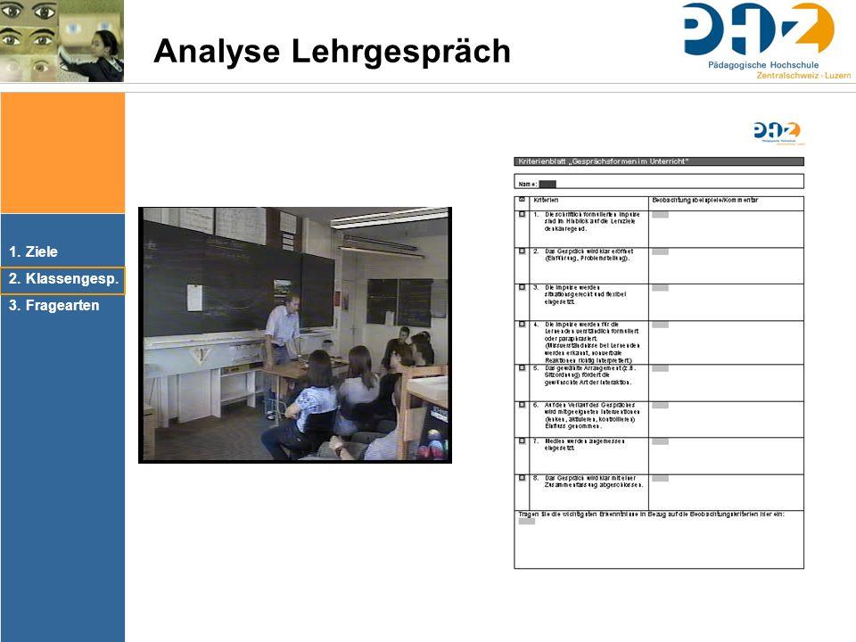 Analyse Lehrgespräch