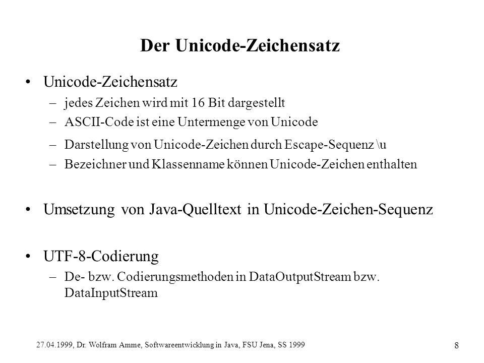 Der Unicode-Zeichensatz