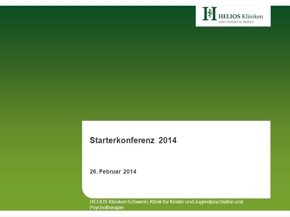 Starterkonferenz 2014 Alexander von Dömming 26. Februar 2014