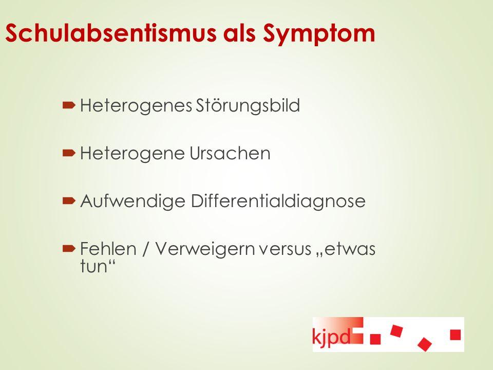 Schulabsentismus als Symptom