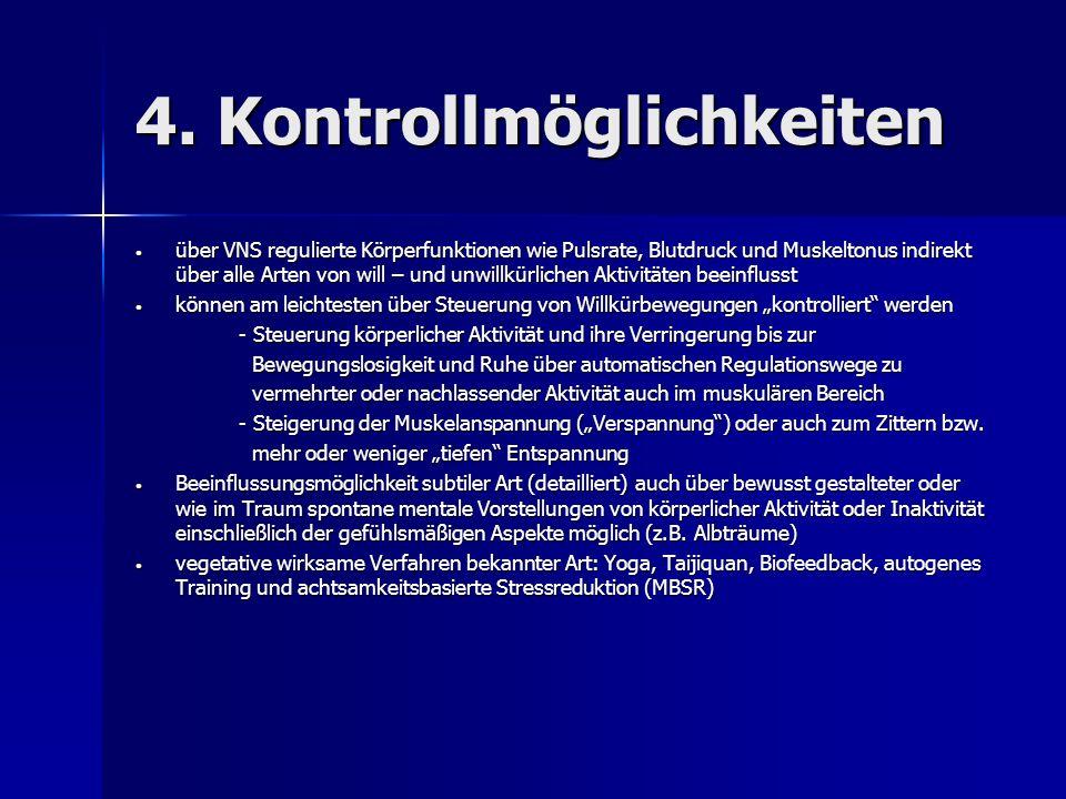 4. Kontrollmöglichkeiten