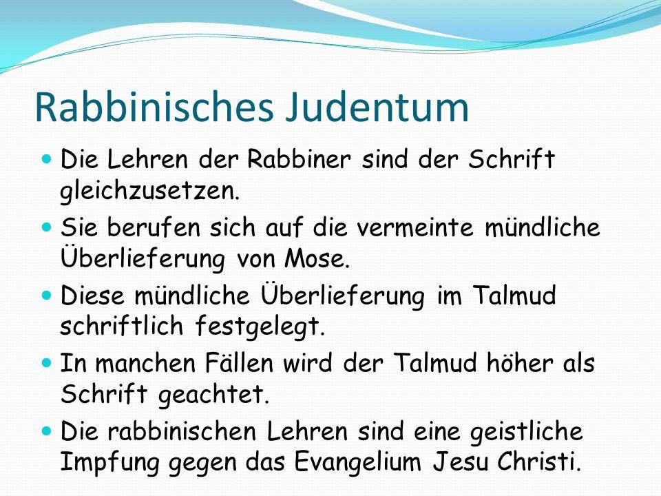 Rabbinisches Judentum