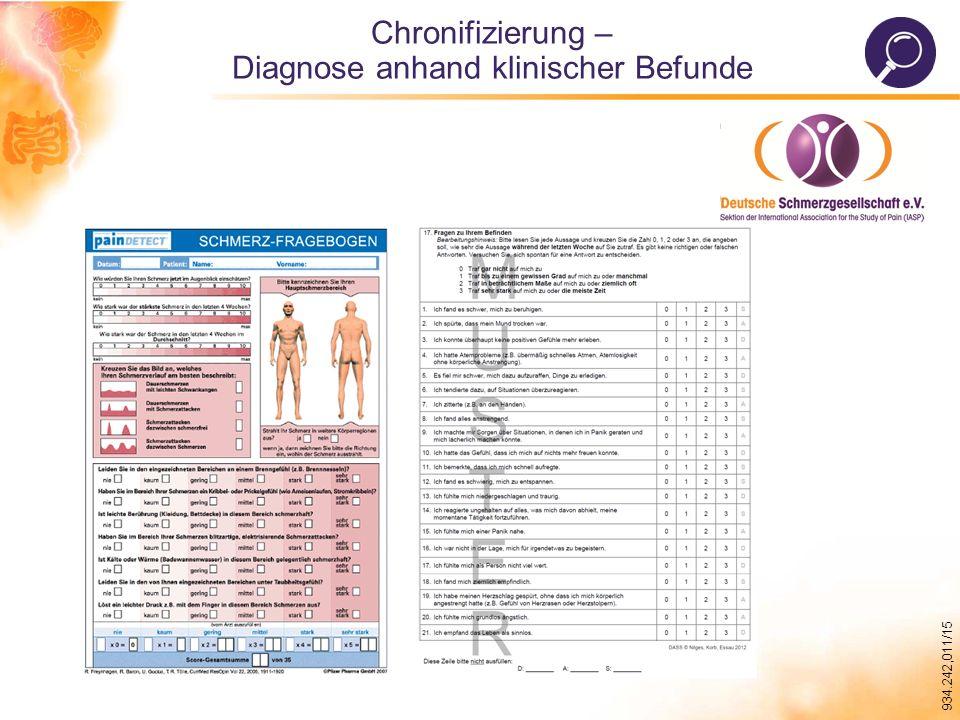 Diagnose anhand klinischer Befunde